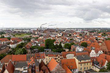Luftaufnahme von der Hansestadt Wismar von Reiner Conrad
