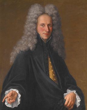 Portrait d'un noble inconnu, Pietro Longhi sur