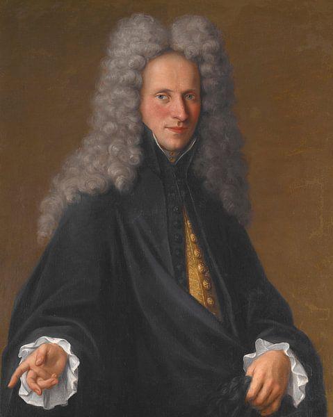 Porträt eines unbekannten Adligen, Pietro Longhi von Meesterlijcke Meesters