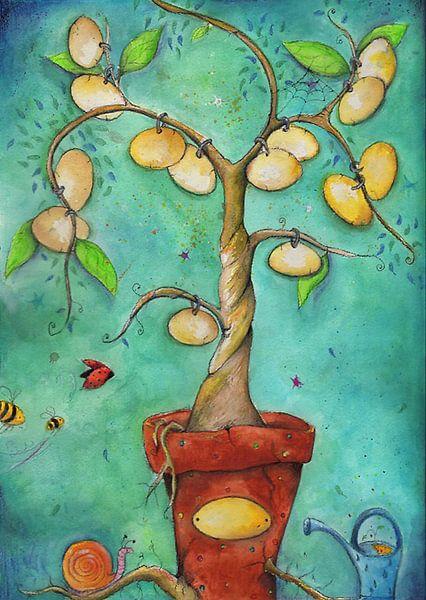 Familie boom van keanne van de Kreeke