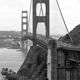 Golden Gate Bridge in San Francisco, USA van Ricardo Bouman | Fotografie