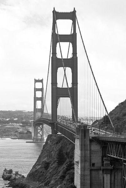 Golden Gate Bridge in San Francisco, USA van Ricardo Bouman   Fotografie