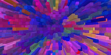 Blocks III van Marion Tenbergen