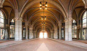 Tunnel passage onder het Rijksmuseum in Amsterdam van Sjoerd van der Wal