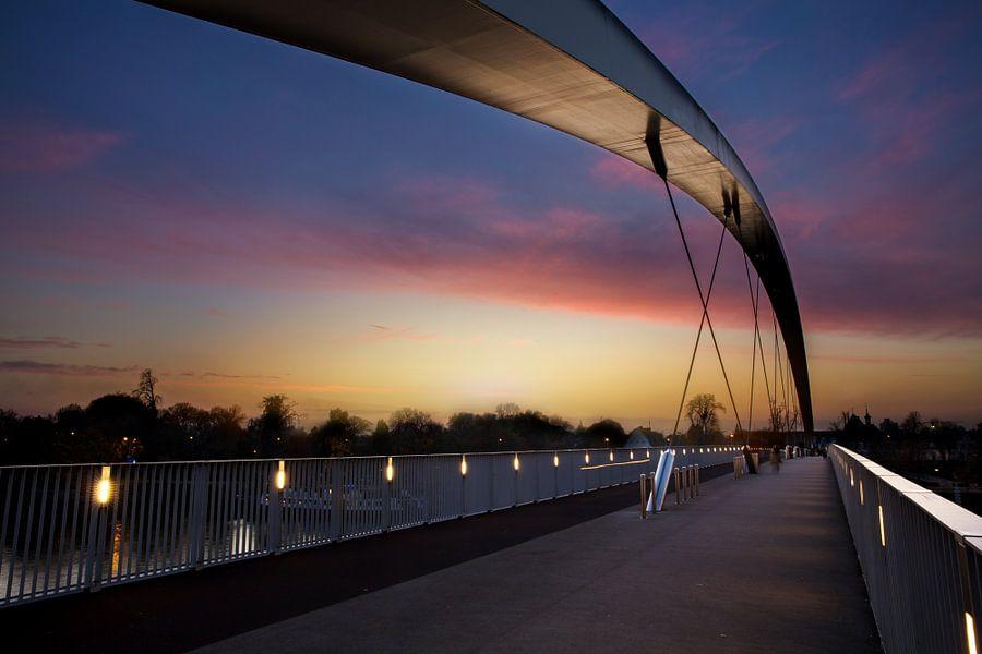 De hoge brug in Maastricht