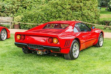 Vue arrière de la Ferrari 288 GTO 1980 sur Sjoerd van der Wal