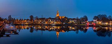Blokzijl-4, Abendpanorama, Niederlande von Adelheid Smitt