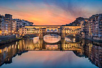 Ponte Vecchio in Florenz von Michael Abid