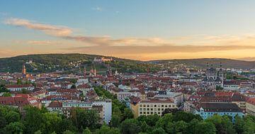 Vue sur Würzburg sur Robin Oelschlegel