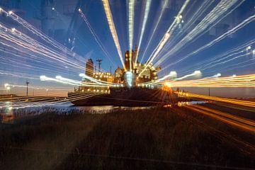 Schepen in de Haven Amsterdam van Scheepskijker_Havenfotografie