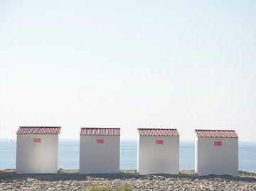 Strandhuisjes van Carl Van Rooy