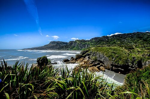 Kustlijn van Punakaiki - Nieuw Zeeland