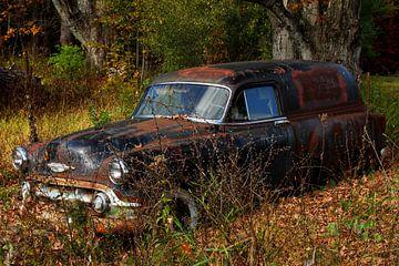 Rusty Chevrolet van