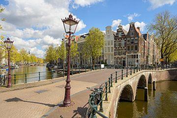 Keizersgracht in Amsterdam van Foto Amsterdam / Peter Bartelings