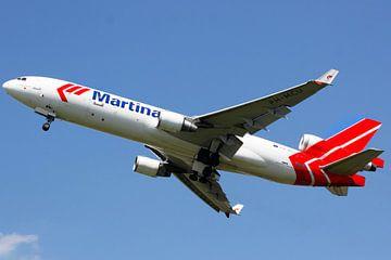 Martinair Cargo MD-11F Departing Schiphol van Floris Struis