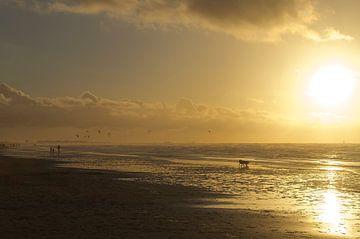 Zonsondergang van Willem Holle WHOriginal Fotografie