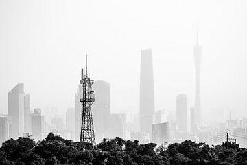 Nebeliges Guangzhou von Marcel Samson