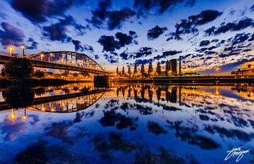Magische zonsopkomst, Arnhem. van Joris Raaijman
