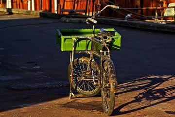 de oude transportfiets van Norbert Sülzner