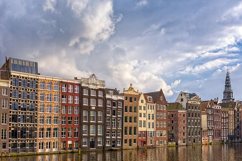 Cloudy Damrak - Amsterdam