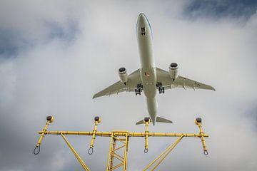 KLM in landing van