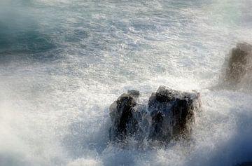 Assaut des vagues von