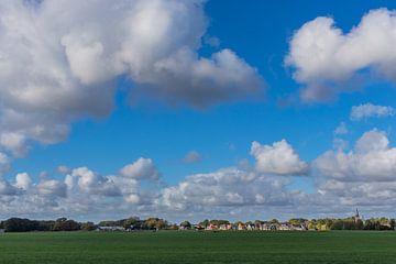 Mooie wolkenlucht van Agnes Schuiterd