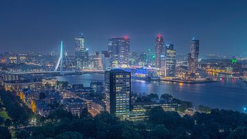 Rotterdam sky-line van Michel Jansen