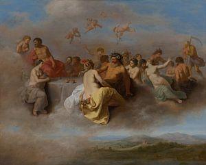 Rencontre des dieux sur les nuages sur Natasja Tollenaar