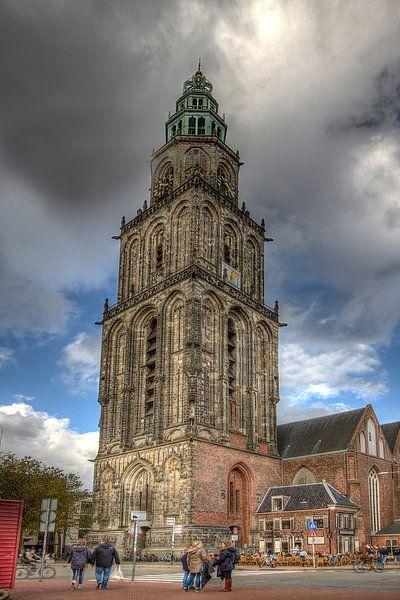 Martini-toren, Groningen van Tony Unitly