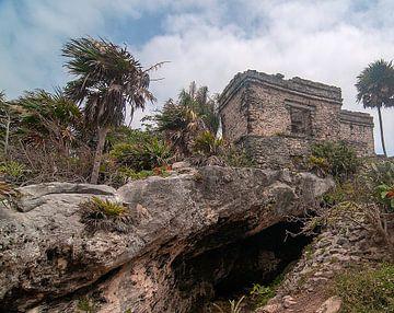 Mexico: Tulum  (Tulum) van Maarten Verhees