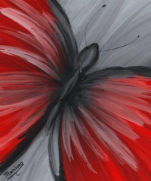 Vlinder van Monique Schilder