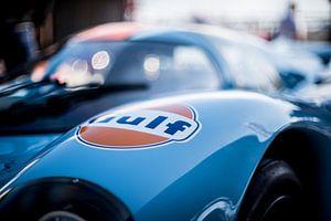 details of the Le Mans Porsche Gulf 02