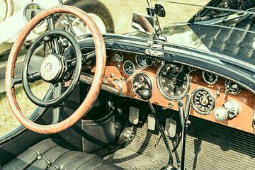 Mercedes-Benz SSK Sport convertible oldtimer dashboard van Sjoerd van der Wal