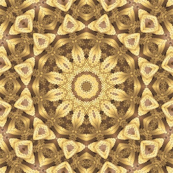 Mandala goud van Marion Tenbergen