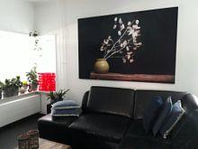 Kundenfoto: Stillleben mit Silberblatt von Joske Kempink, als akustikbild