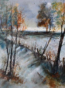 Winterlandschaft von pol ledent