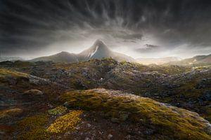 Dramatisch IJsland van