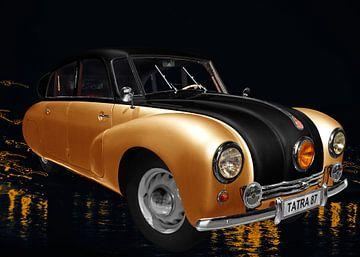 Tatra 87 in oranje & zwart van aRi F. Huber