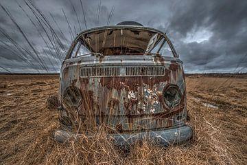 Volkswagen busje van Gerben van Buiten