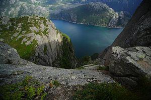 Noorwegen Preekstoel van