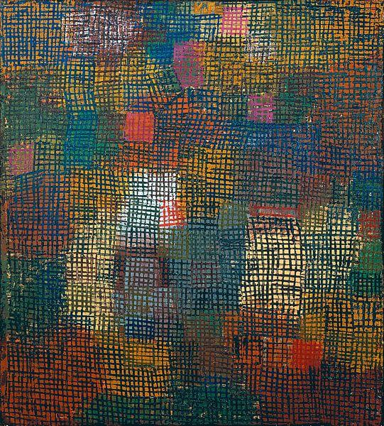 Farben aus der Ferne, Paul Klee von Meesterlijcke Meesters