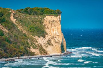 Cape Arkona in de zomer van Martin Wasilewski