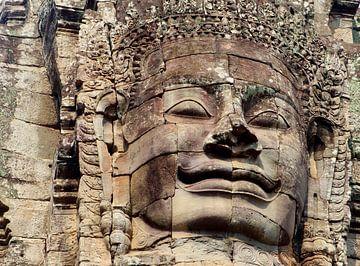 Boeddha glimlach, Cambodja van Inge Hogenbijl