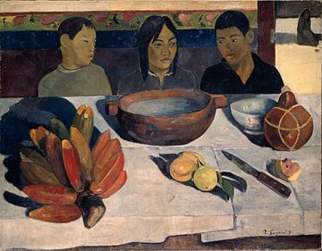 Paul Gauguin. The Meal