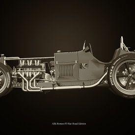 Alfa Romeo P3 Rat-Road Editie van Jan Keteleer