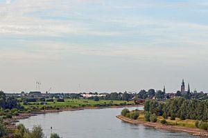 Aanzicht van Zutphen van