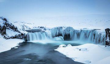 Godafoss IJsland van Mario Calma