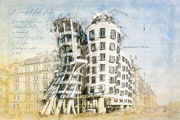 Dancing House, Prag von Theodor Decker