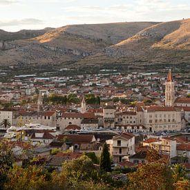 Oude stad van Trogir van Stephan van Krimpen